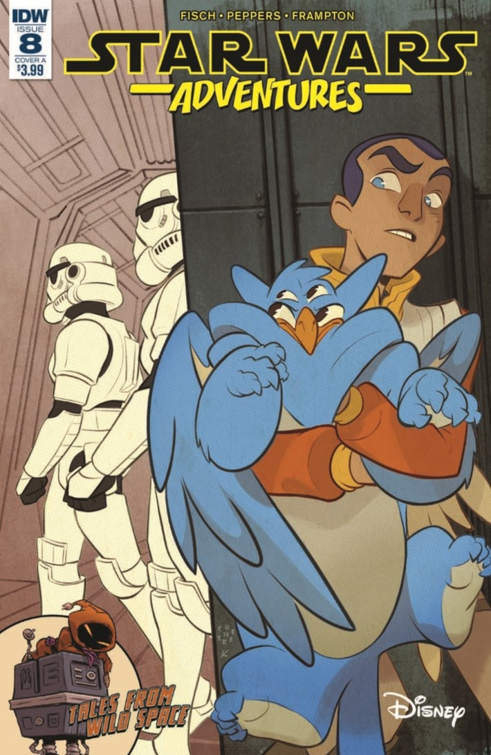 StarWarsAdv_08-pr-1 ComicList Previews: STAR WARS ADVENTURES #8