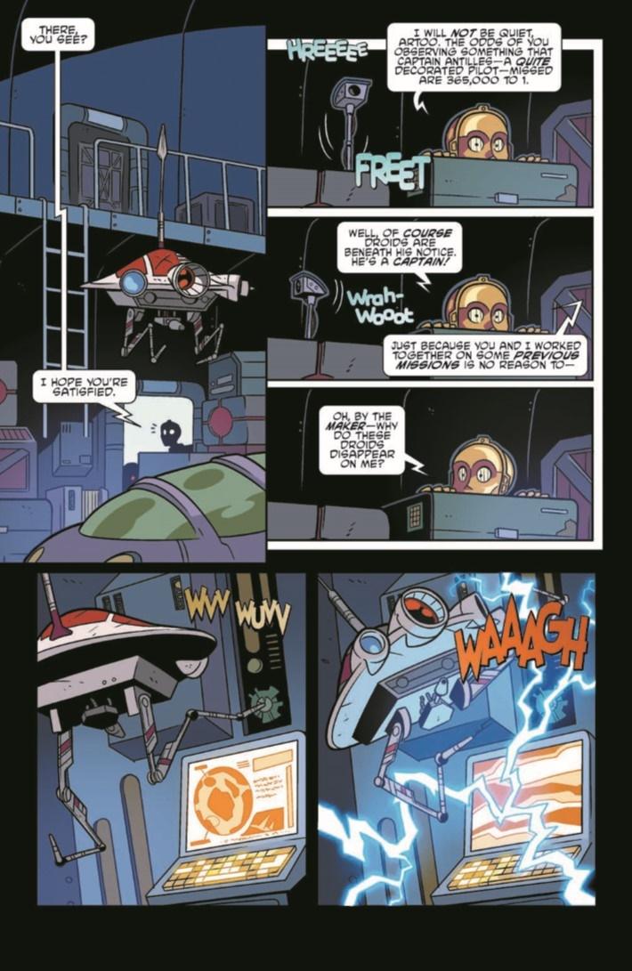 StarWarsAdv_09-pr-7 ComicList Previews: STAR WARS ADVENTURES #9