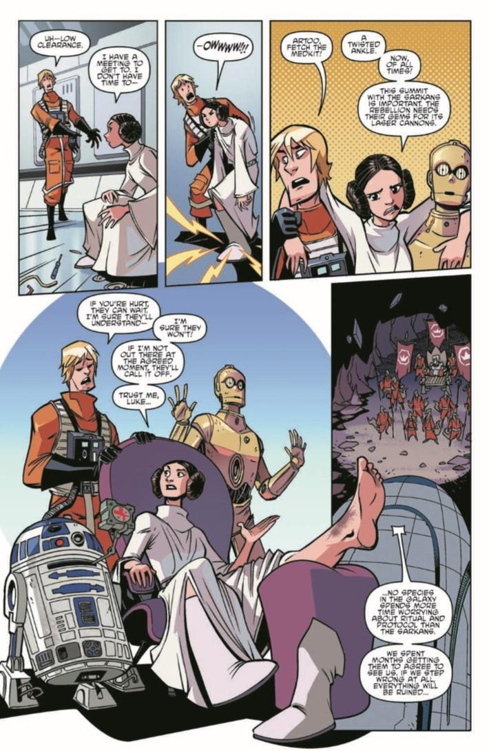 StarWars_Annual_2018-pr-5 ComicList Previews: STAR WARS ADVENTURES ANNUAL 2018