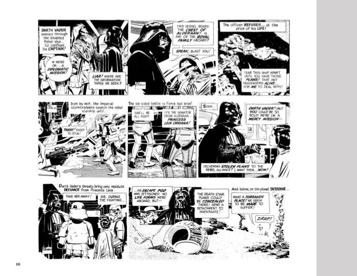 StarWars_Newspaper_v2-pr-6 ComicList Previews: STAR WARS THE CLASSIC NEWSPAPER COMICS VOLUME 2 HC