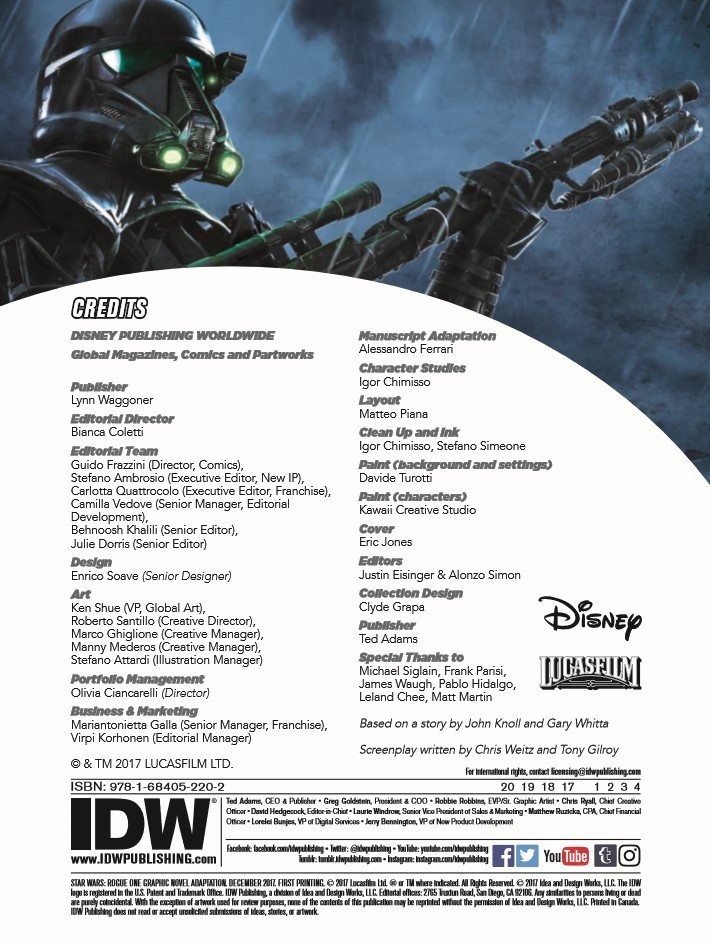 StarWars_RogueOne-pr-2 ComicList Previews: STAR WARS ROGUE ONE GN