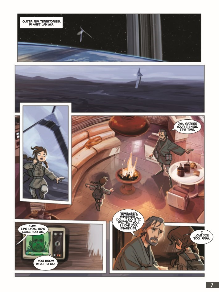 StarWars_RogueOne-pr-3 ComicList Previews: STAR WARS ROGUE ONE GN