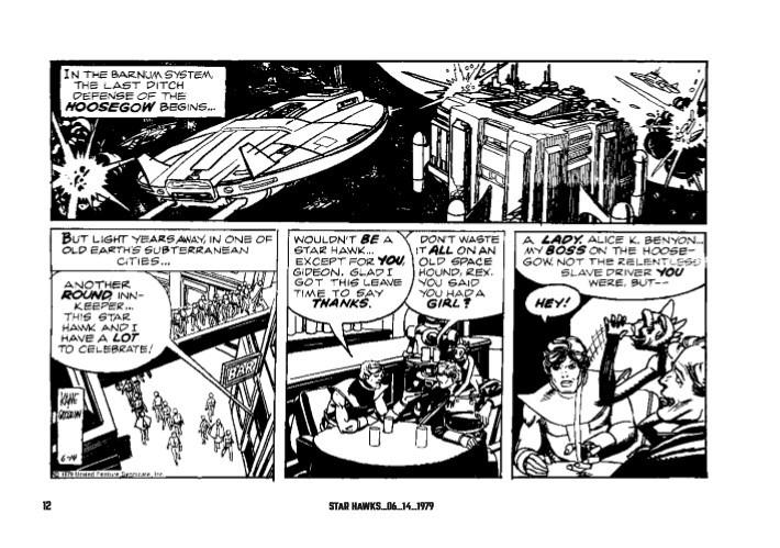 Star_Hawks_Vol_03-pr-6 ComicList Previews: STAR HAWKS VOLUME 3 1979-1981 HC