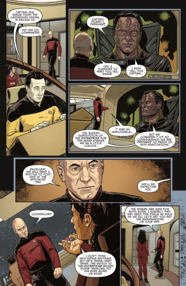 Star_Trek_TNG_Terra_Incognita_02-pr-7 ComicList Previews: STAR TREK THE NEXT GENERATION TERRA INCOGNITA #2