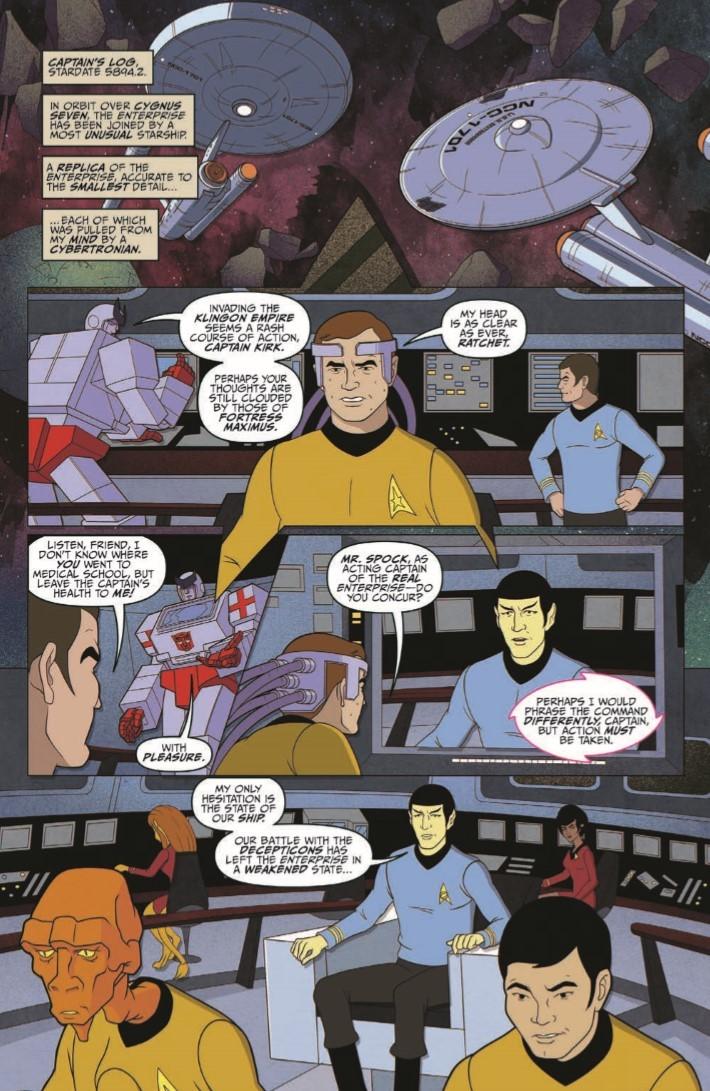Star_Trek_Transformers_05-pr-3 ComicList Previews: STAR TREK VS TRANSFORMERS #5