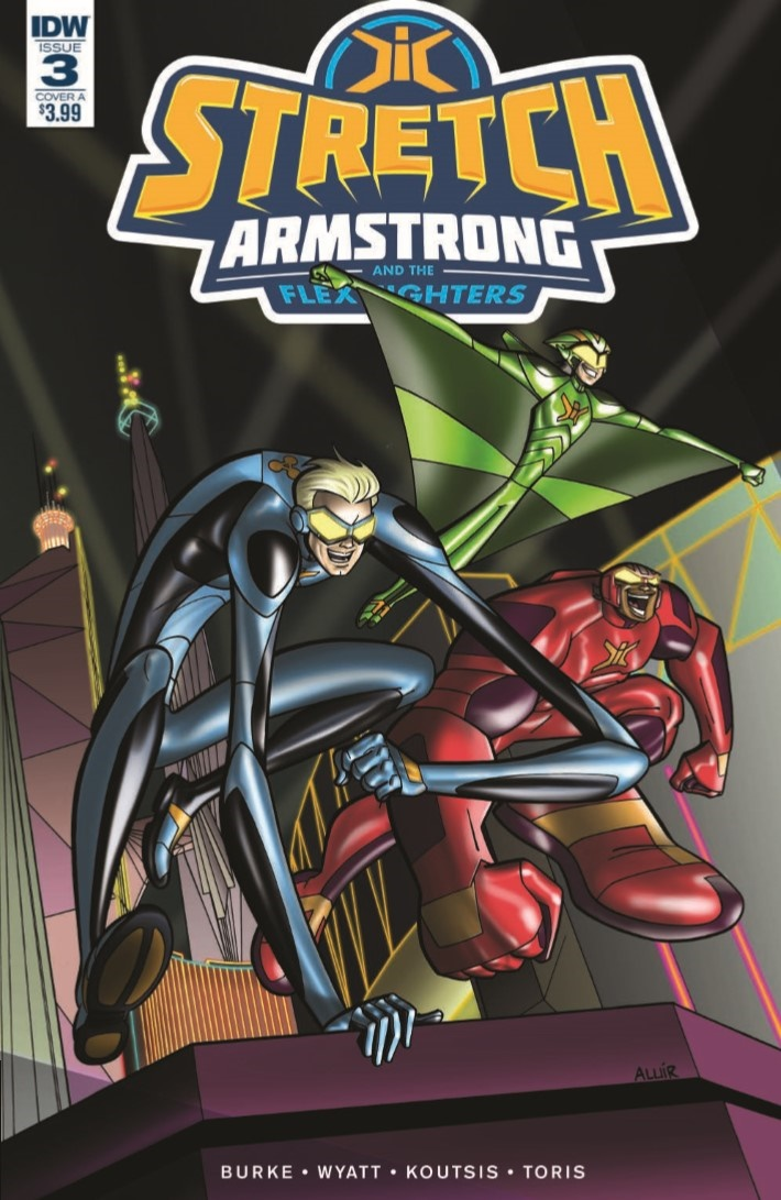 StretchArmstrong_03-pr-1 ComicList Previews: STRETCH ARMSTRONG AND THE FLEX FIGHTERS #3