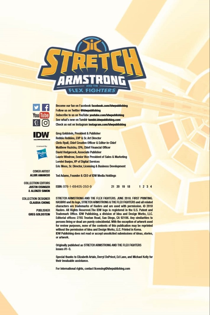 StretchArmstrong_TPB-pr-2 ComicList Previews: STRETCH ARMSTRONG AND THE FLEX FIGHTERS TP