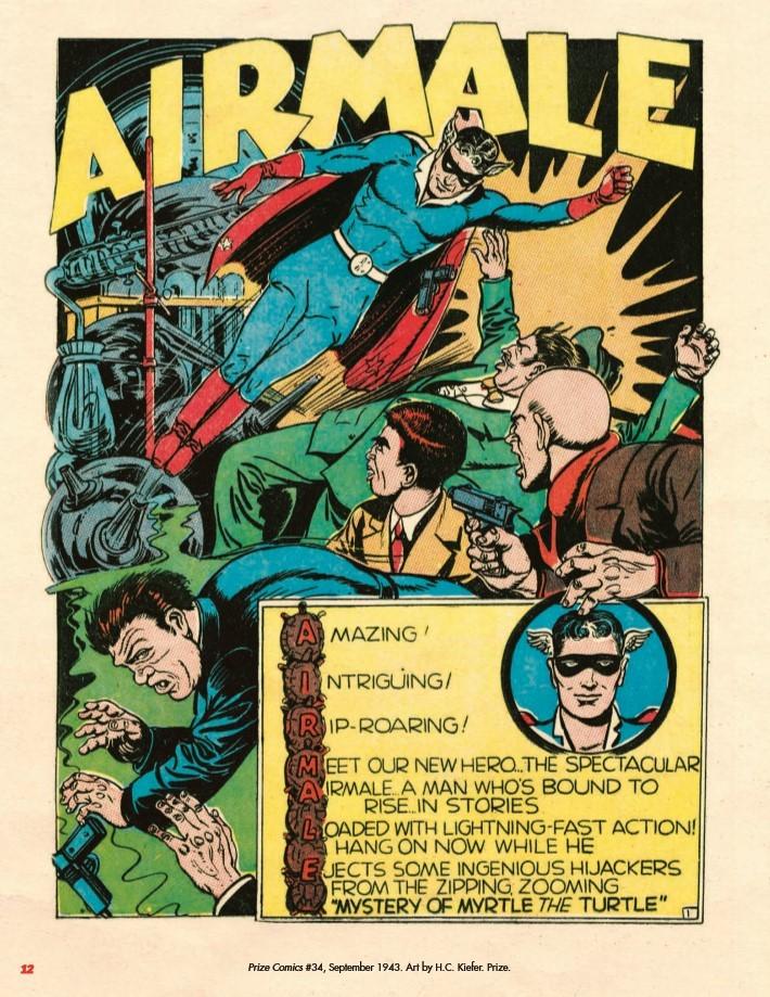 Super_Weird_Heroes_Preposterous_But_True-pr-3 ComicList Previews: SUPER WEIRD HEROES VOLUME 2 PREPOSTEROUS BUT TRUE HC