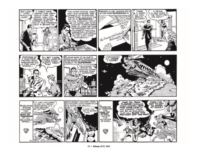 Superman_GolDailies1942-pr-4 ComicList Preview: SUPERMAN THE GOLDEN AGE NEWSPAPER DAILIES 1942-1944 HC