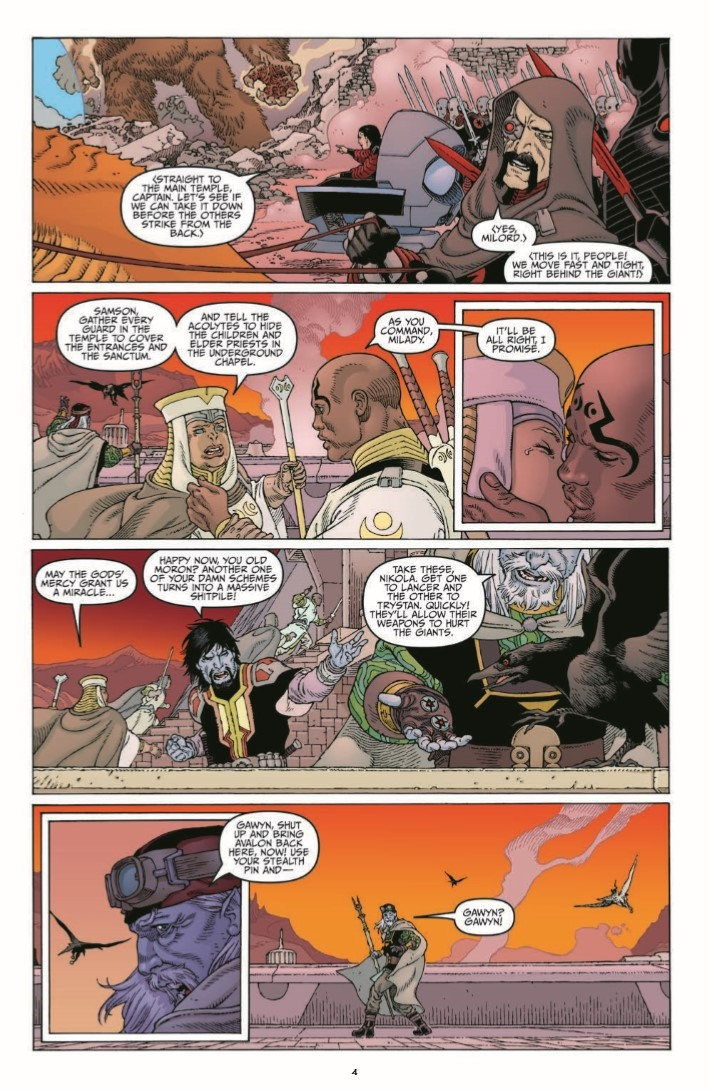 Sword_of_Ages_04-pr-6 ComicList Previews: SWORD OF AGES #4