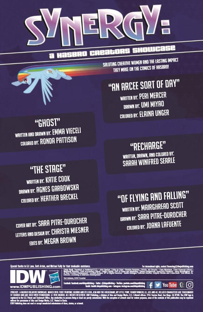 Synergy_Hasbro_Creators_Showcase-pr-2 ComicList Previews: SYNERGY A HASBRO CREATORS SHOWCASE #1