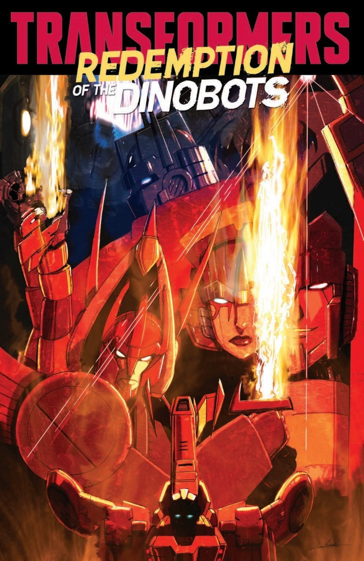 TF_RedemptionDinobots-pr-1 ComicList Previews: TRANSFORMERS REDEMPTION OF THE DINOBOTS TP