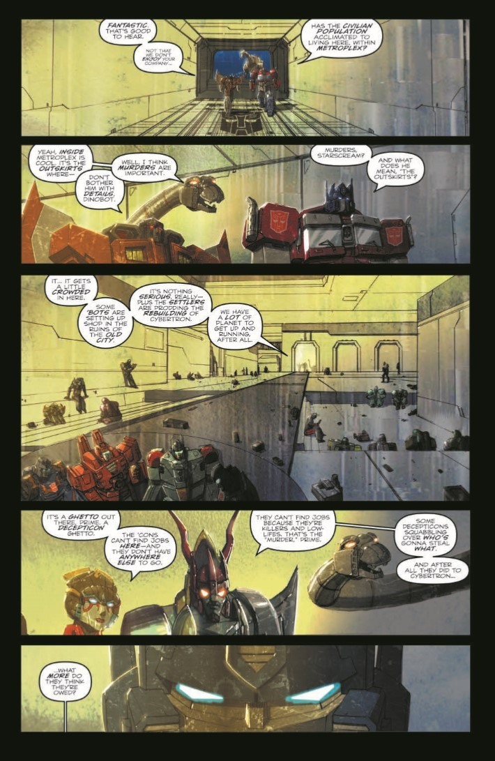 TF_RedemptionDinobots-pr-8 ComicList Previews: TRANSFORMERS REDEMPTION OF THE DINOBOTS TP