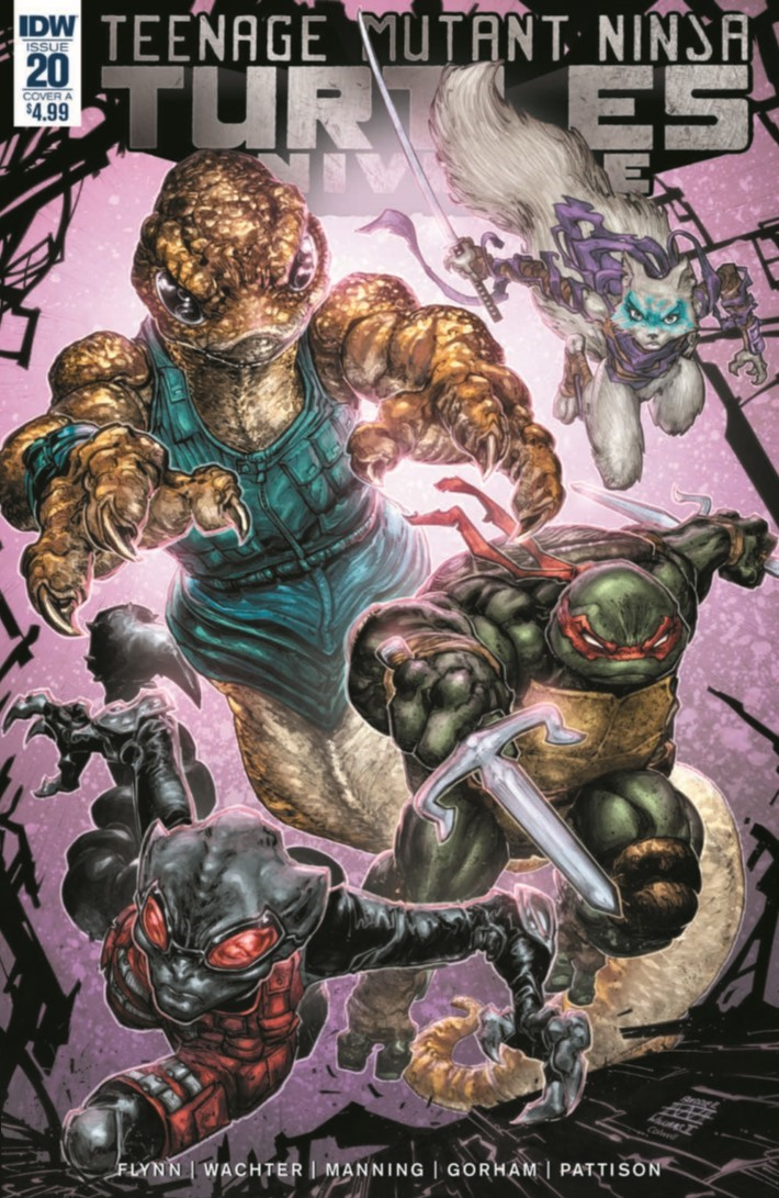 TMNTUniverse_20-pr-1 ComicList Previews: TEENAGE MUTANT NINJA TURTLES UNIVERSE #20