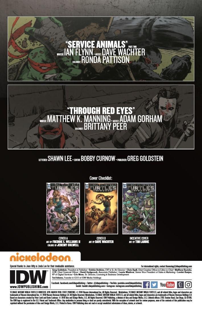 TMNTUniverse_20-pr-2 ComicList Previews: TEENAGE MUTANT NINJA TURTLES UNIVERSE #20