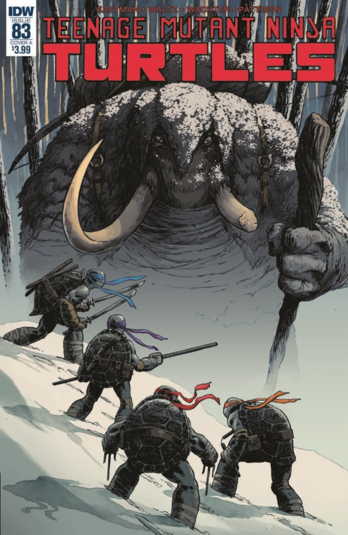 TMNT_83-pr-1 ComicList Previews: TEENAGE MUTANT NINJA TURTLES #83