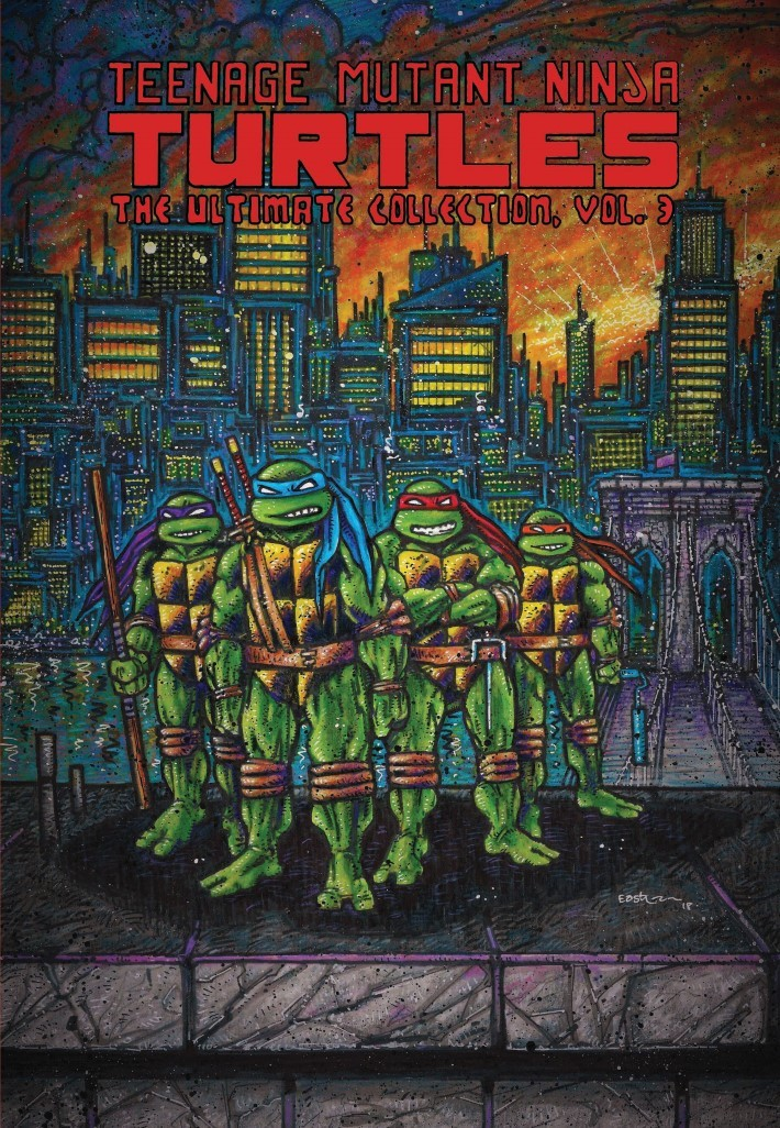 TMNT_Ultimate_Colection_Vol3_REPRINT-pr-1 ComicList Previews: TEENAGE MUTANT NINJA TURTLES THE ULTIMATE COLLECTION VOLUME 3 TP