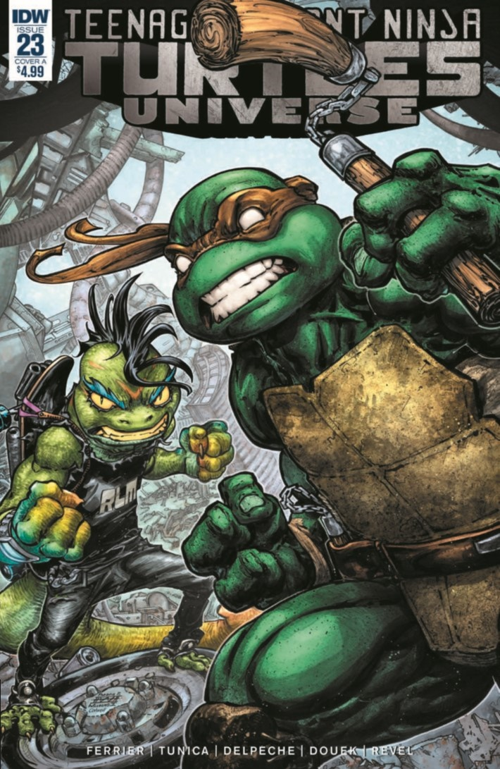 TMNT_Universe_23-pr-1 ComicList Previews: TEENAGE MUTANT NINJA TURTLES UNIVERSE #23