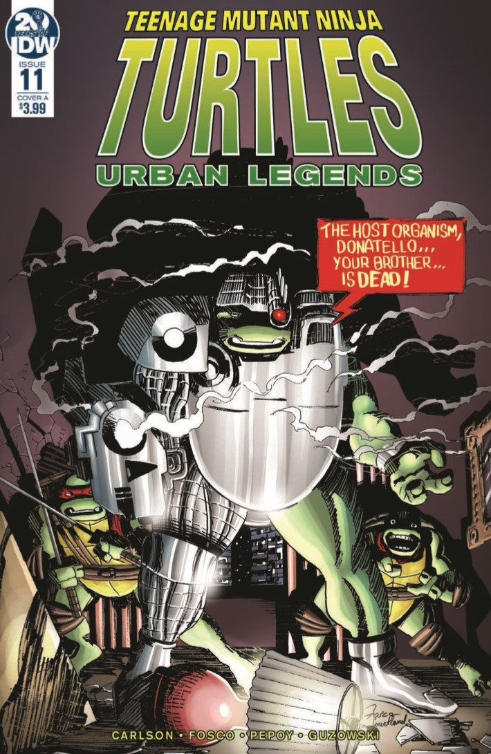 TMNT_Urban_Legends_11-PR-1 ComicList Previews: TEENAGE MUTANT NINJA TURTLES URBAN LEGENDS #11