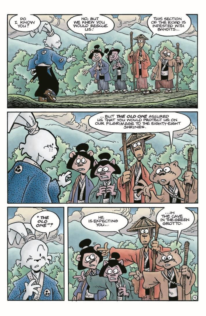 TMNT_Usagi_Expanded-pr-7 ComicList Previews: TEENAGE MUTANT NINJA TURTLES USAGI YOJIMBO HC (EXPANDED EDITION)