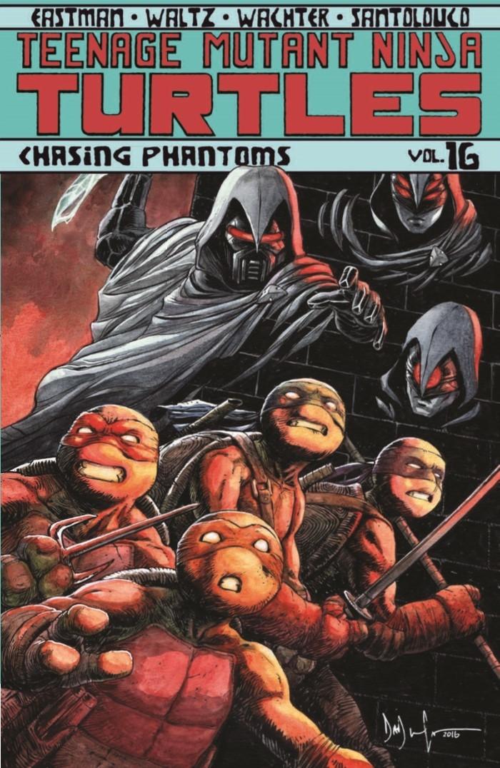 TMNT_vol016-pr-1 ComicList Preview: TEENAGE MUTANT NINJA TURTLES VOLUME 16 CHASING PHANTOMS TP