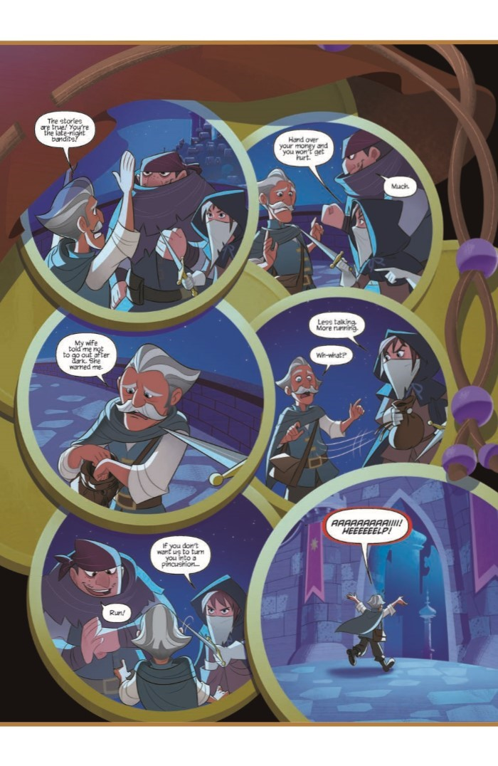 Tangled_01-pr-4 ComicList Previews: TANGLED #1