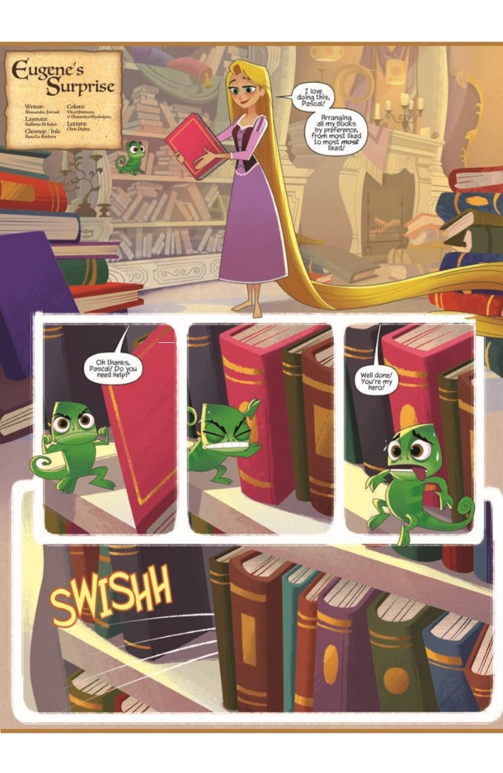 Tangled_02-pr-3 ComicList Previews: TANGLED #2