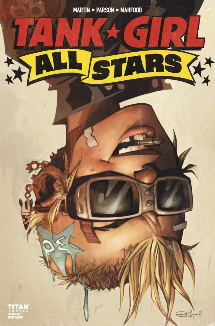 Tank_Girl_All_Stars_3_cA ComicList Previews: TANK GIRL ALL STARS #3
