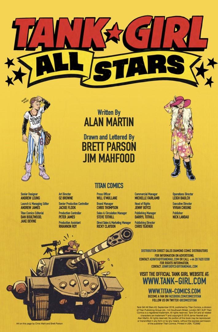 Tank_Girl_All_Stars_3_credits ComicList Previews: TANK GIRL ALL STARS #3