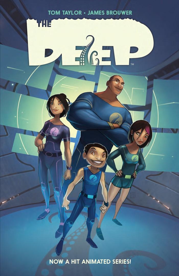TheDeep_SC_PRESS_1 ComicList Previews: THE DEEP TP