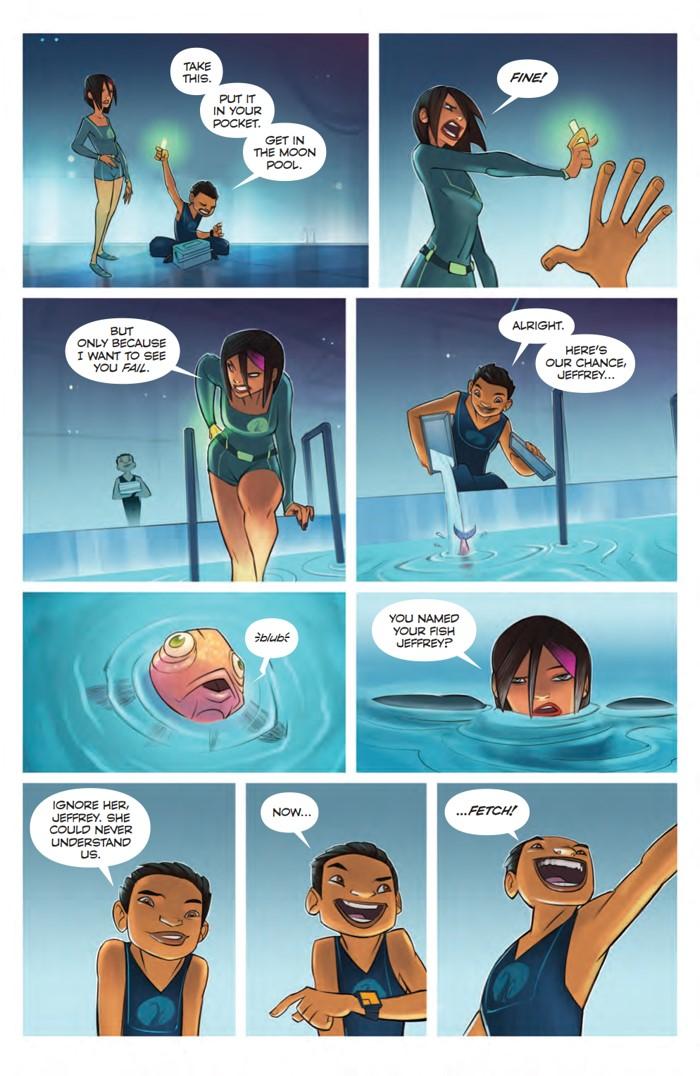 TheDeep_SC_PRESS_13 ComicList Previews: THE DEEP TP