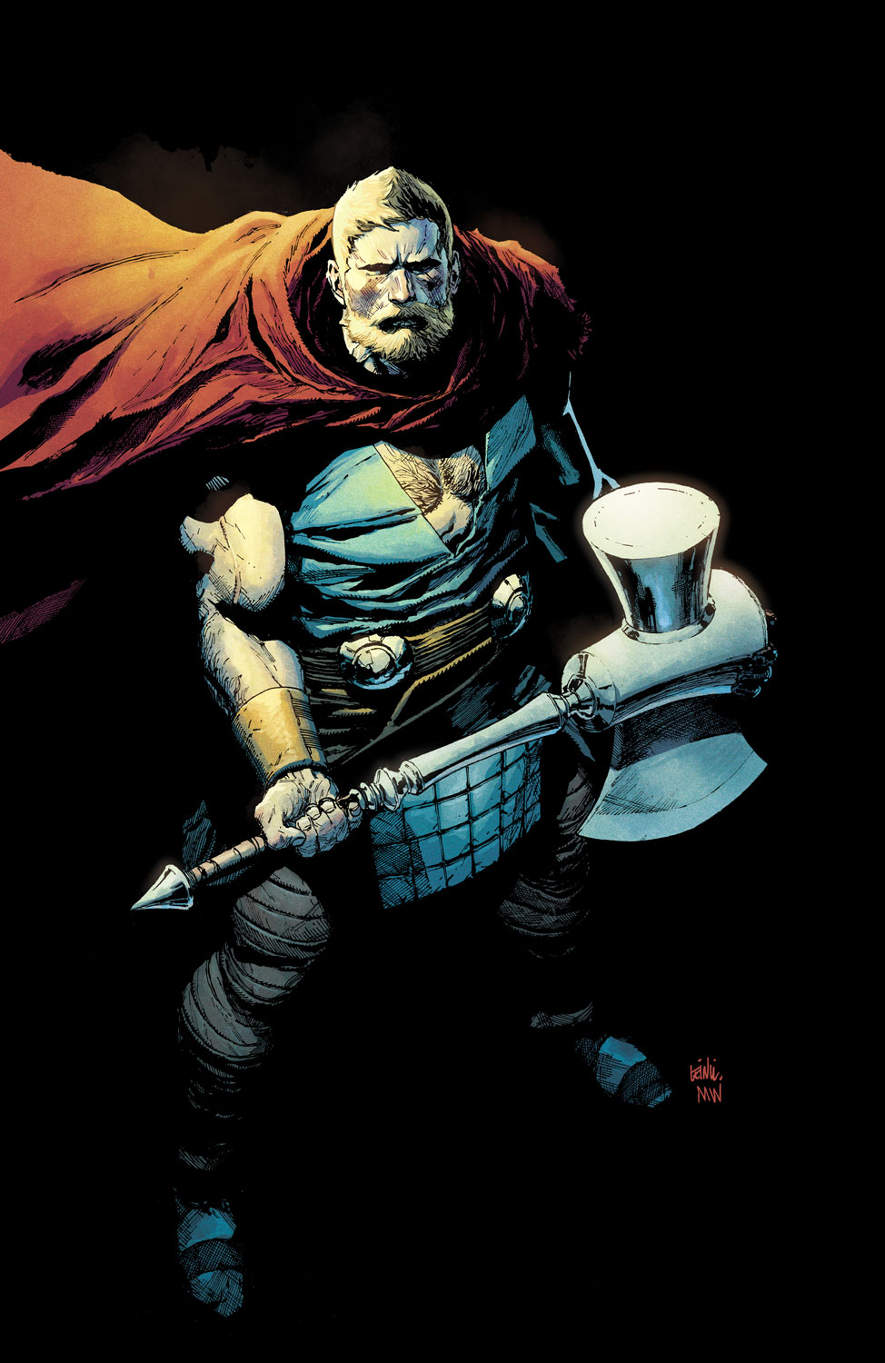 The_Unworthy_Thor_5_Yu_Variant ComicList Preview: THE UNWORTHY THOR #5