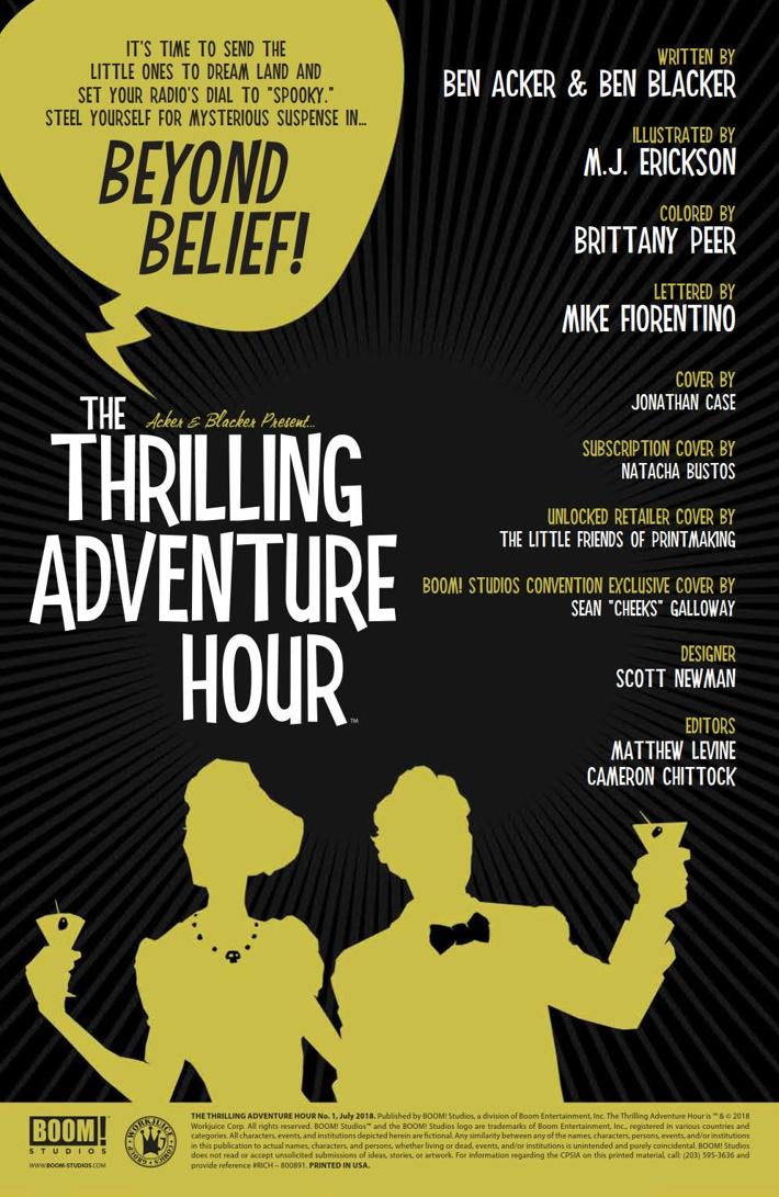 ThrillingAdventureHour_001_PRESS_2 ComicList Previews: THE THRILLING ADVENTURE HOUR #1