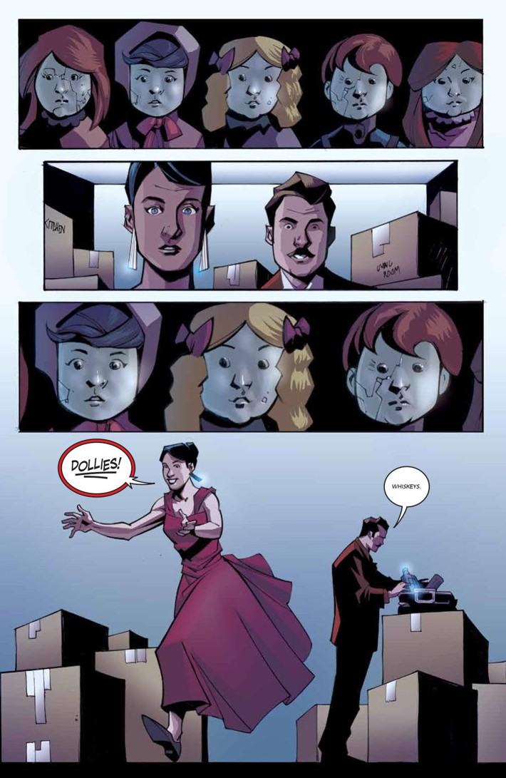 ThrillingAdventureHour_v1_SC_PRESS_25 ComicList Previews: THE THRILLING ADVENTURE HOUR VOLUME 1 A SPIRITED ROMANCE TP