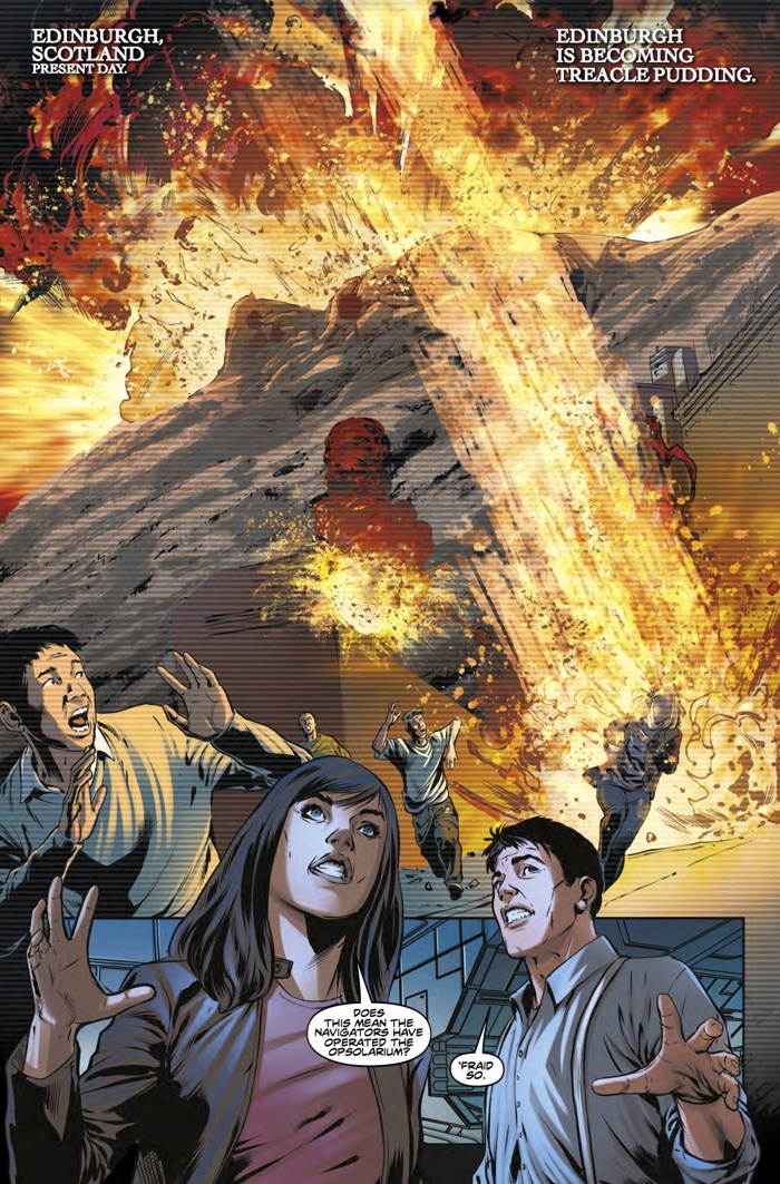 Torchwood_2_3_Pg1 ComicList Preview: TORCHWOOD 2 #3