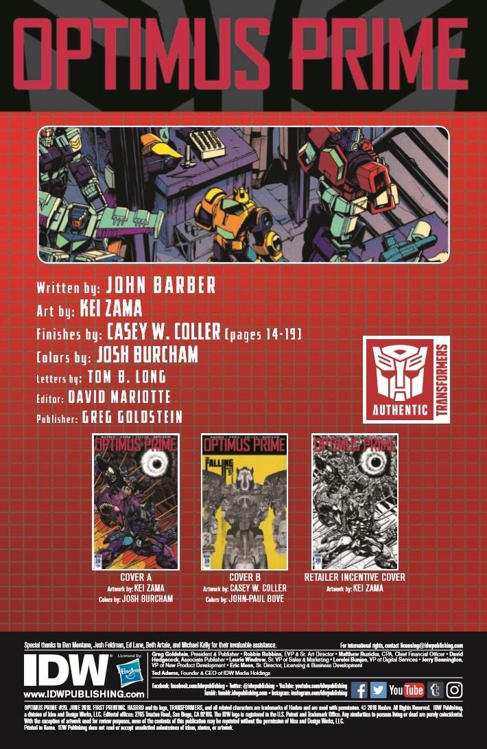 Transformers_Optimus_Prime_20-pr-2 ComicList Previews: OPTIMUS PRIME #20