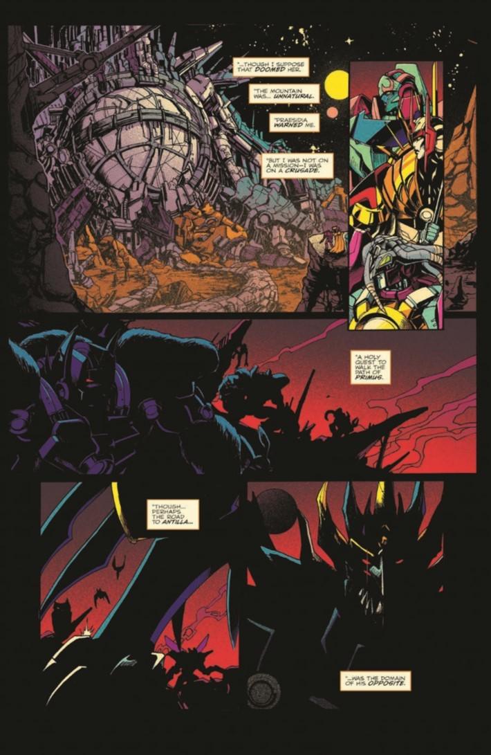 Transformers_Optimus_Prime_Vol04-pr-5 ComicList Previews: TRANSFORMERS OPTIMUS PRIME VOLUME 4 TP