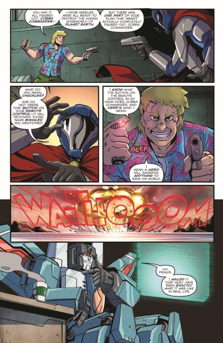Transformers_Optimus_Prime_Vol05-pr-5 ComicList Previews: TRANSFORMERS OPTIMUS PRIME VOLUME 5 TP