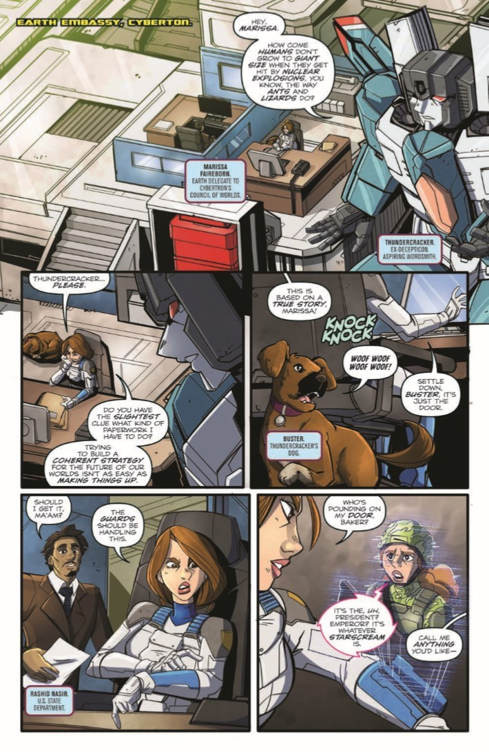 Transformers_Optimus_Prime_Vol05-pr-6 ComicList Previews: TRANSFORMERS OPTIMUS PRIME VOLUME 5 TP