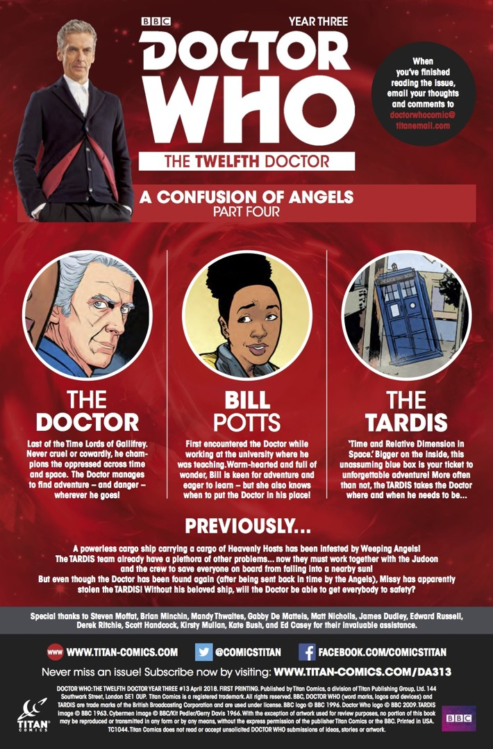 Twelfth_Doctor_3_13_Synopsis ComicList Previews: DOCTOR WHO THE TWELFTH DOCTOR YEAR THREE #13