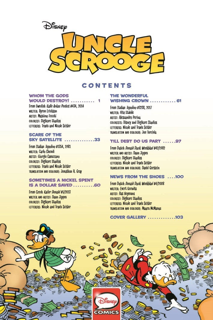 Uncle_Scrooge_Whom_the_Gods_Would_Destroy-pr-3 ComicList Previews: UNCLE SCROOGE VOLUME 11 WHOM THE GODS WOULD DESTROY TP
