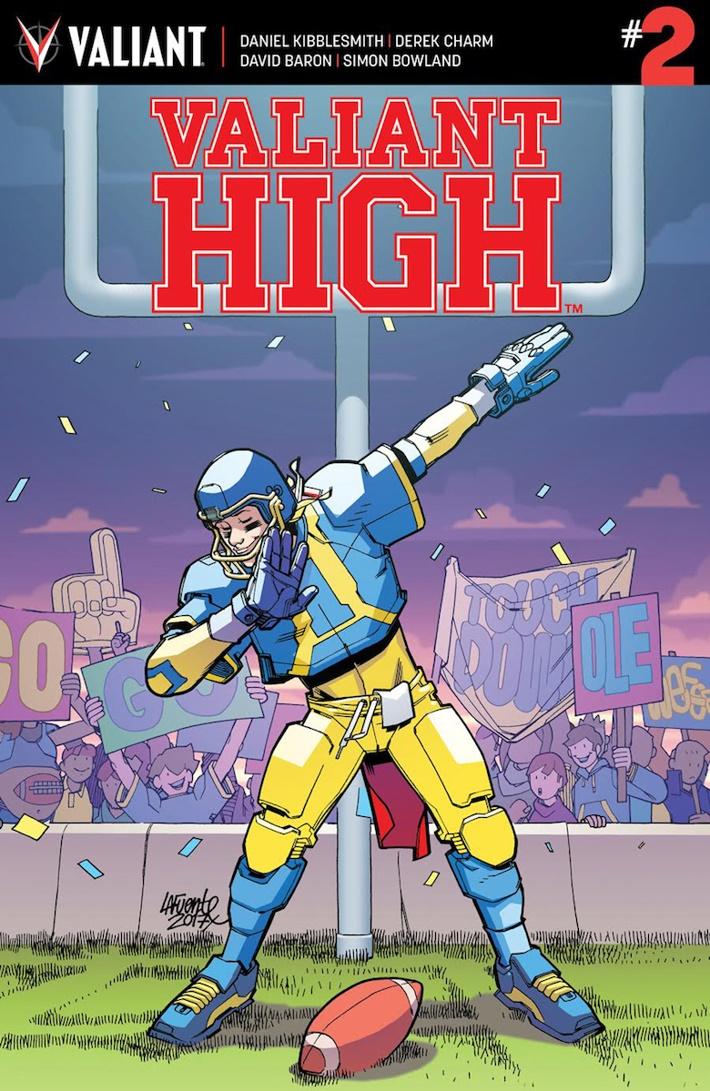 VALIANT-HIGH_002_COVER-A_LAFUENTE ComicList Previews: VALIANT HIGH #2