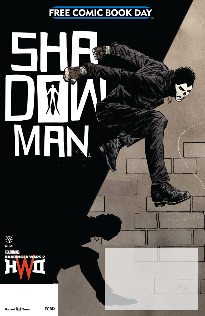 VALIANT_FCBD_2018_COVER_DELATORRE ComicList Previews: VALIANT FCBD 2018 SHADOWMAN SPECIAL
