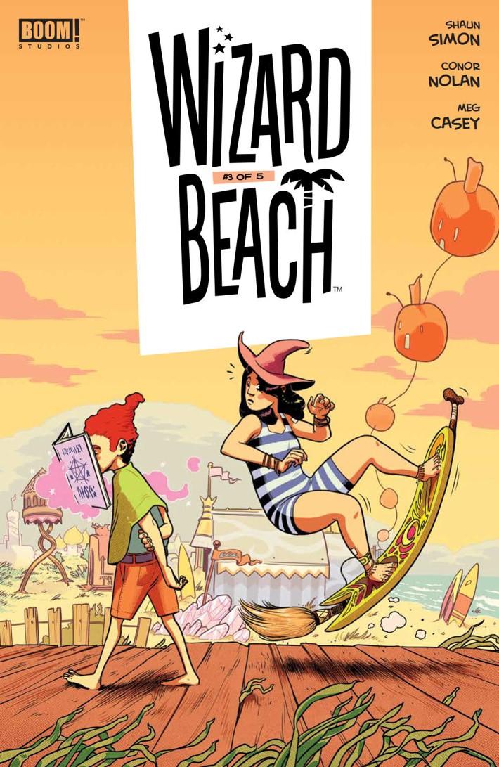 WIzardBeach_003_PRESS_1 ComicList Previews: WIZARD BEACH #3