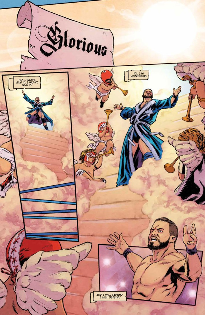 WWEThenNowForever_v3_SC_PRESS_17 ComicList Previews: WWE THEN NOW FOREVER VOLUME 3 TP