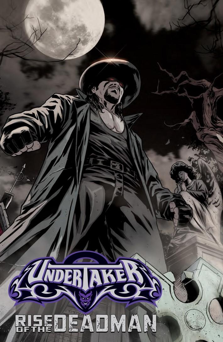 WWEUndertaker_SC_Press_16 ComicList Previews: WWE UNDERTAKER GN