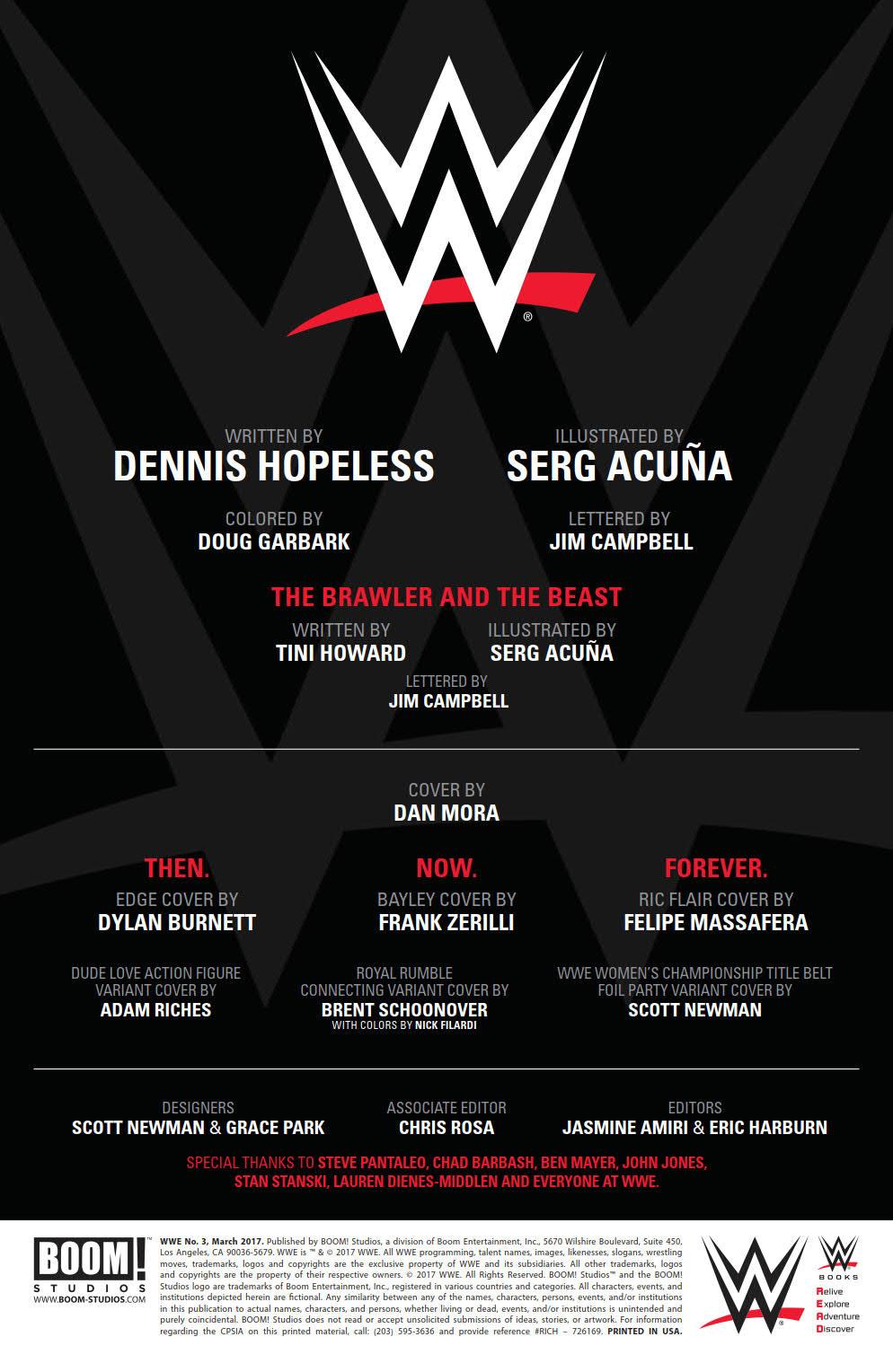 WWE_003_PRESS_2 ComicList Preview: WWE #3