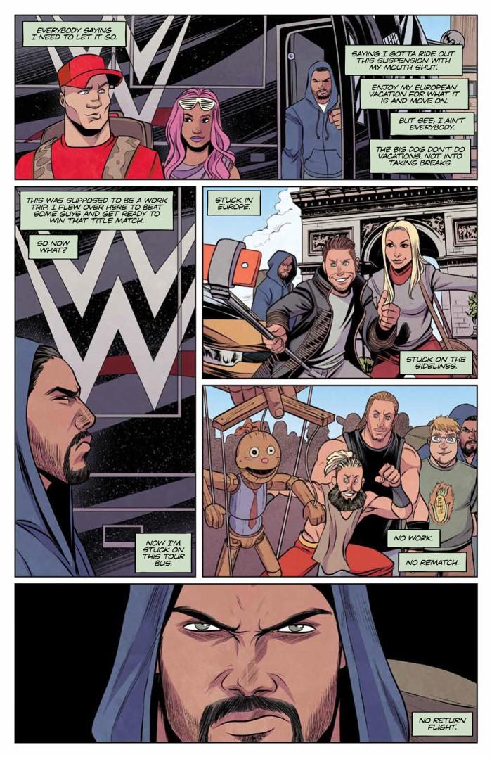 WWE_011_PRESS_3 ComicList Previews: WWE #11