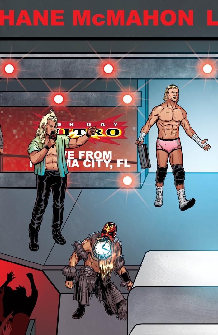 WWE_014_B_RAW_Connecting ComicList Previews: WWE #14