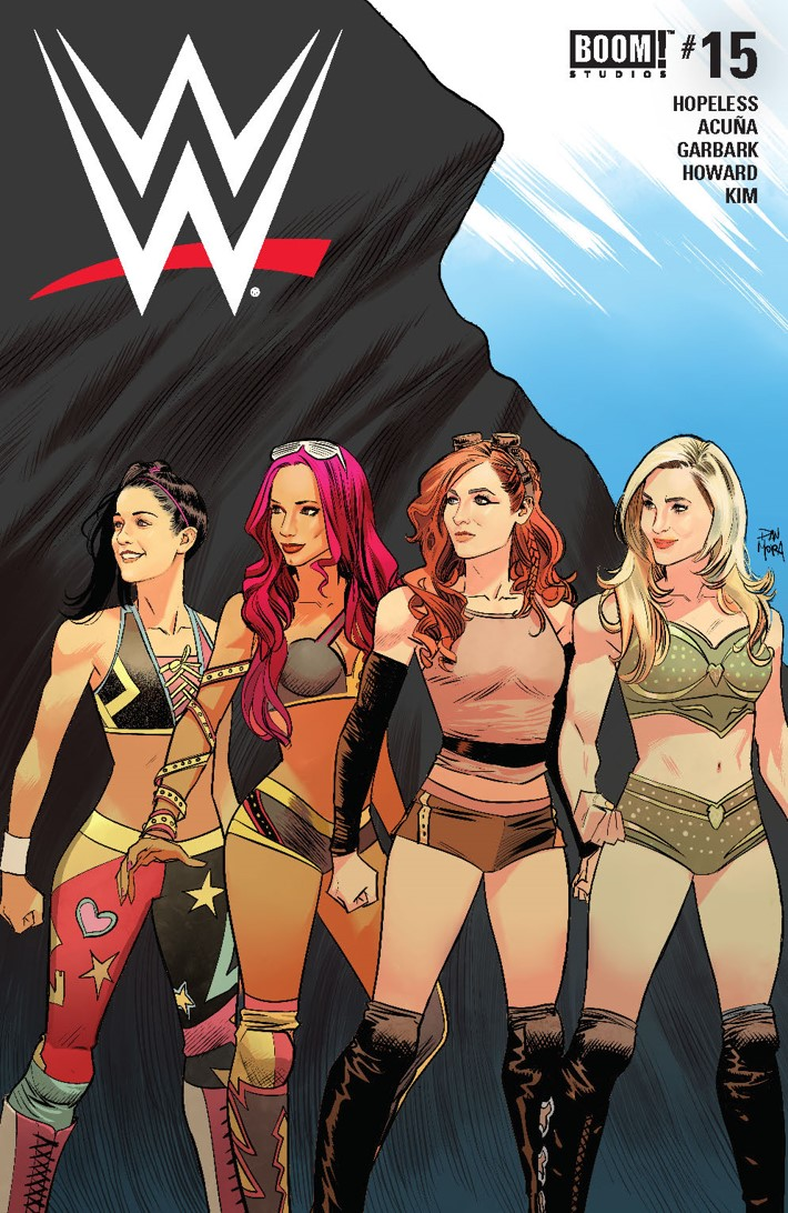WWE_015_Cover_A_Main ComicList Previews: WWE #15